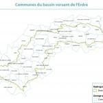 Communes du bassin versant de l'Erdre