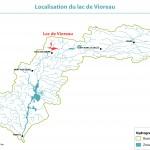 Localisation du lac de Vioreau
